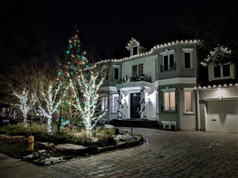 Toronto Outdoor Led Christmas Light Installation